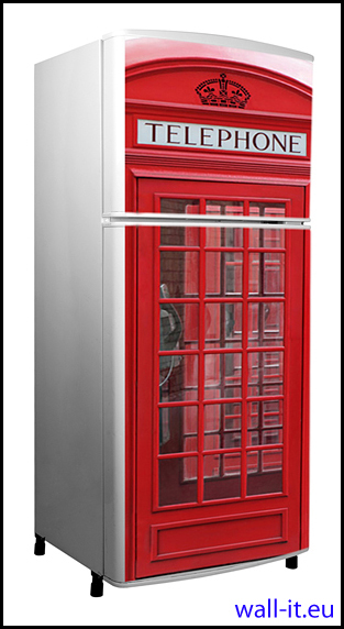 mata magnetyczna na lodowke angielska budka telefoniczna